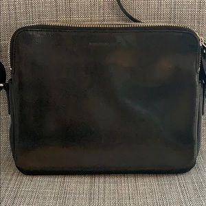 Banana Republic black leather purse
